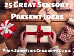 25 Christmas Present Sensory Toys